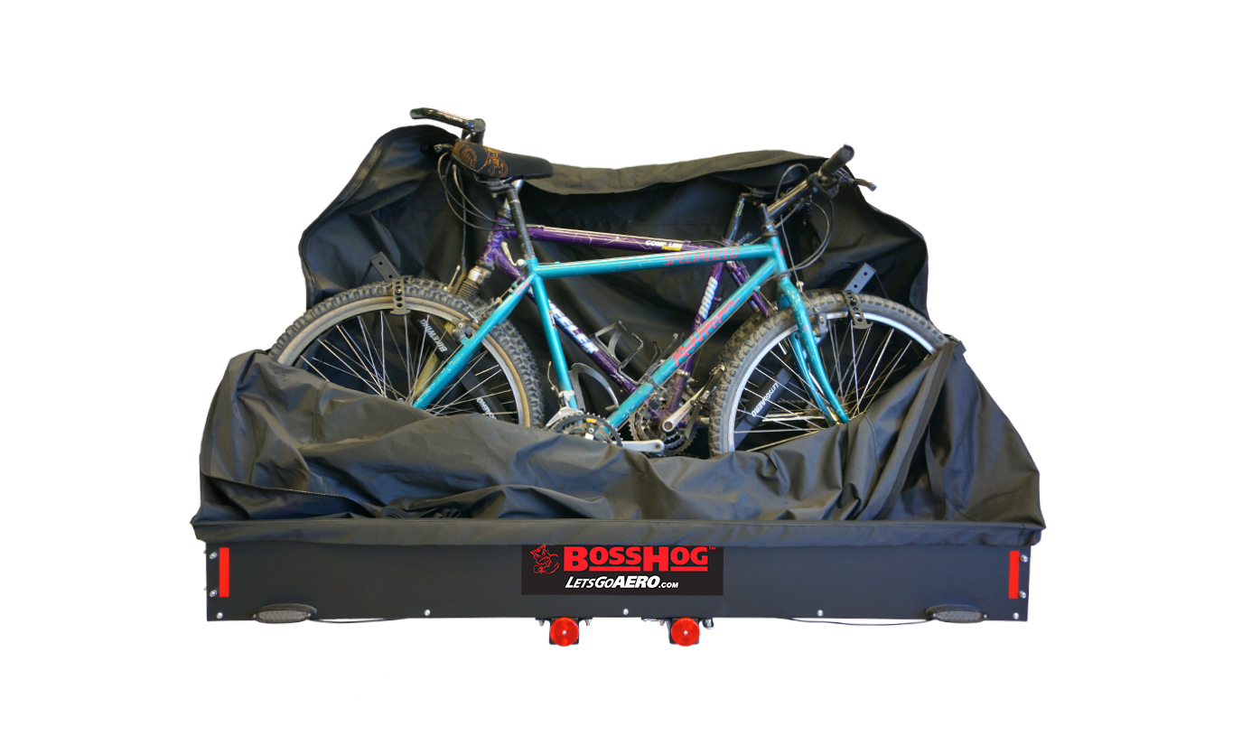 Cargo Carrier Covers, Bicycle attachments, and LED Light Accessories